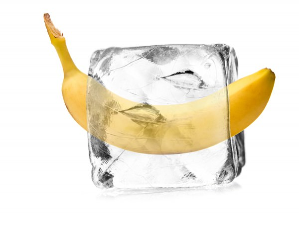 bigstock-banana-in-ice-crystal-52824274